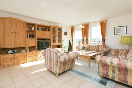 A holiday home for six people with two bathrooms. You will enjoy sole occupancy.