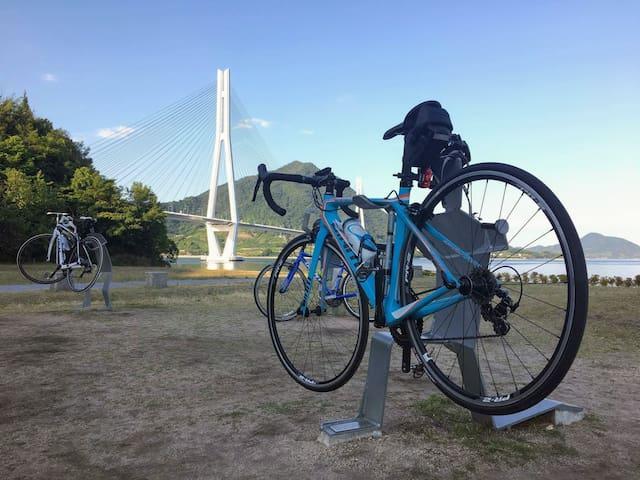 Shimanami Kaodo Cycling MAP