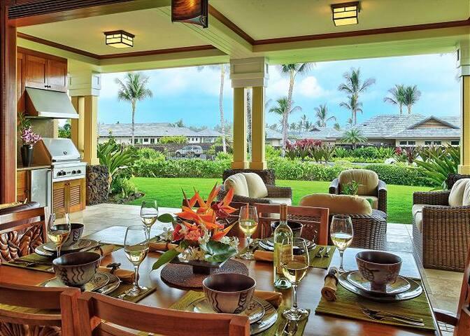 Amazing Kolea Villa 10D, steps away from BeachClub
