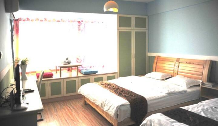 烟台美顺之家度假公寓(五彩缤纷)