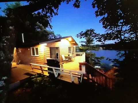 Muskoka cottage with a view