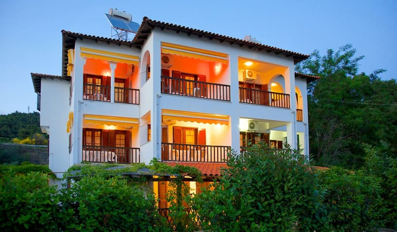 Front view of our Villa