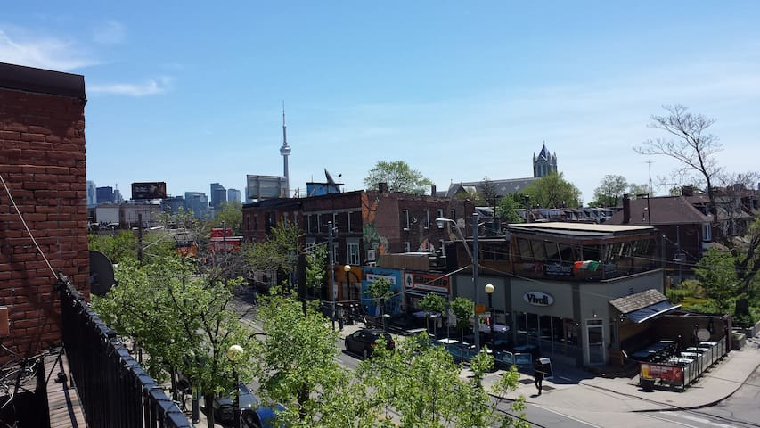 Downtown Toronto Little Italy Trinity Bellwood