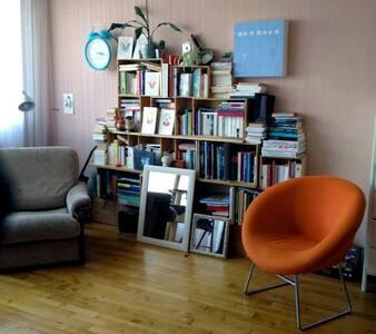 Vie d'artiste avec chat centre Rennes - Rennes - Apartament