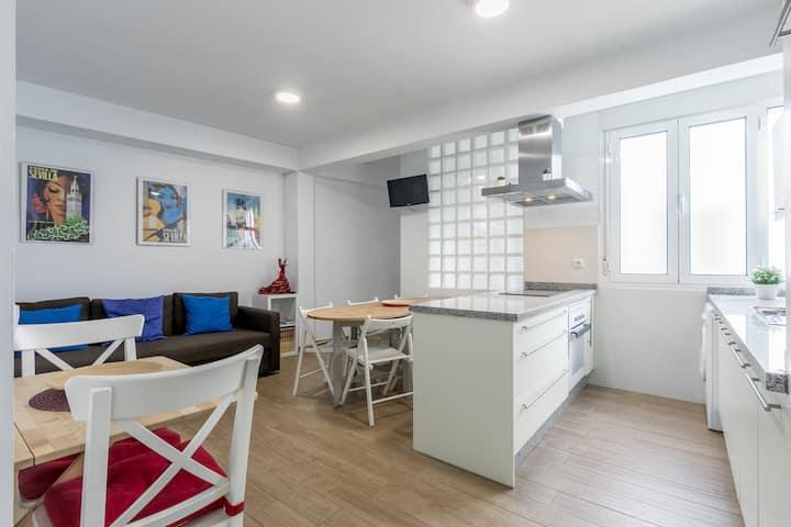 Fantástico Apartamento en el Barrio de Triana