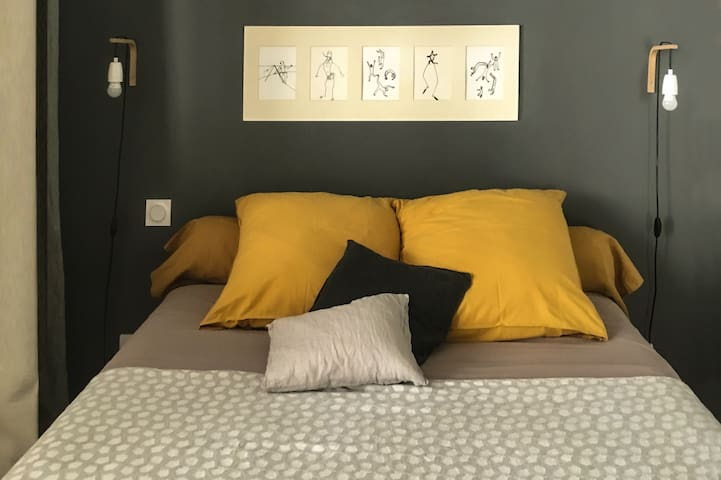 Cosy design and quiet in Toulouse center