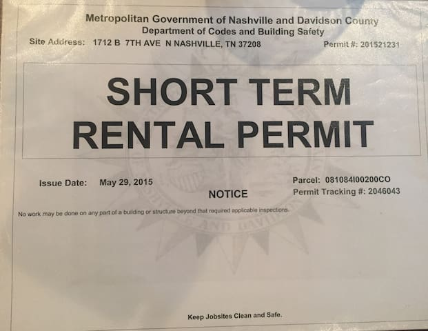 Book with confidence.  We have a permit and are a legally run short term rental.
