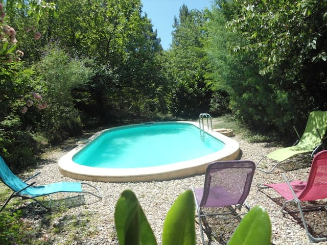Couleur Nature full Gite or bed and breakfast - Générargues - Bed & Breakfast