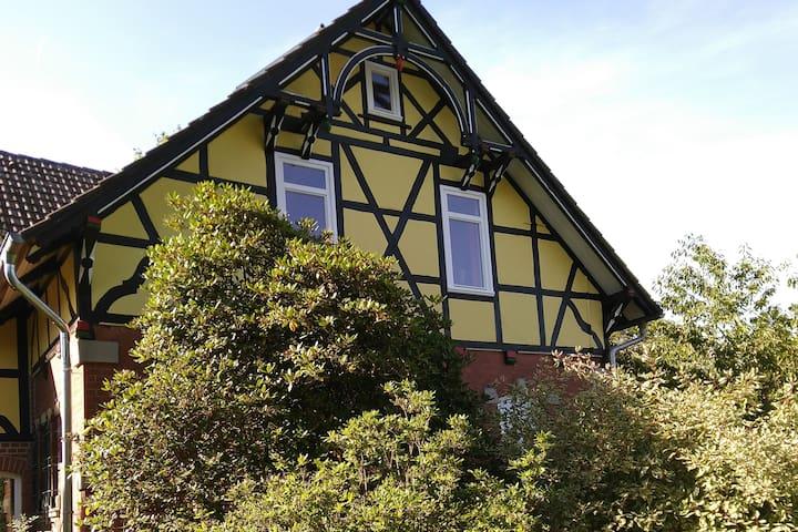 Bio-Ferienhaus Villa Windrose mit tollem Fernblick