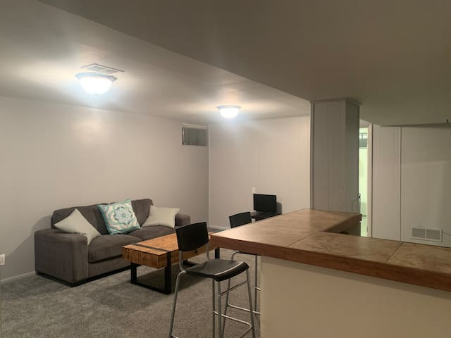 Entire Private Apartment Near Downtown!