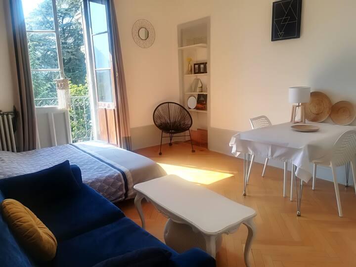 Hôtel Le Beau site - Studio cures et vacances