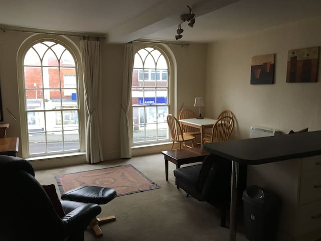 Exclusive use of 1 bed flat in central Buckingham