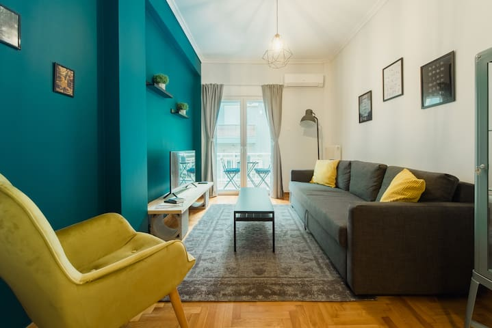 A cozy appartment 200m far away from Acropolis!