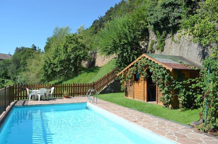 Chalet Villa Stefania Dolomitview Swimmingpool