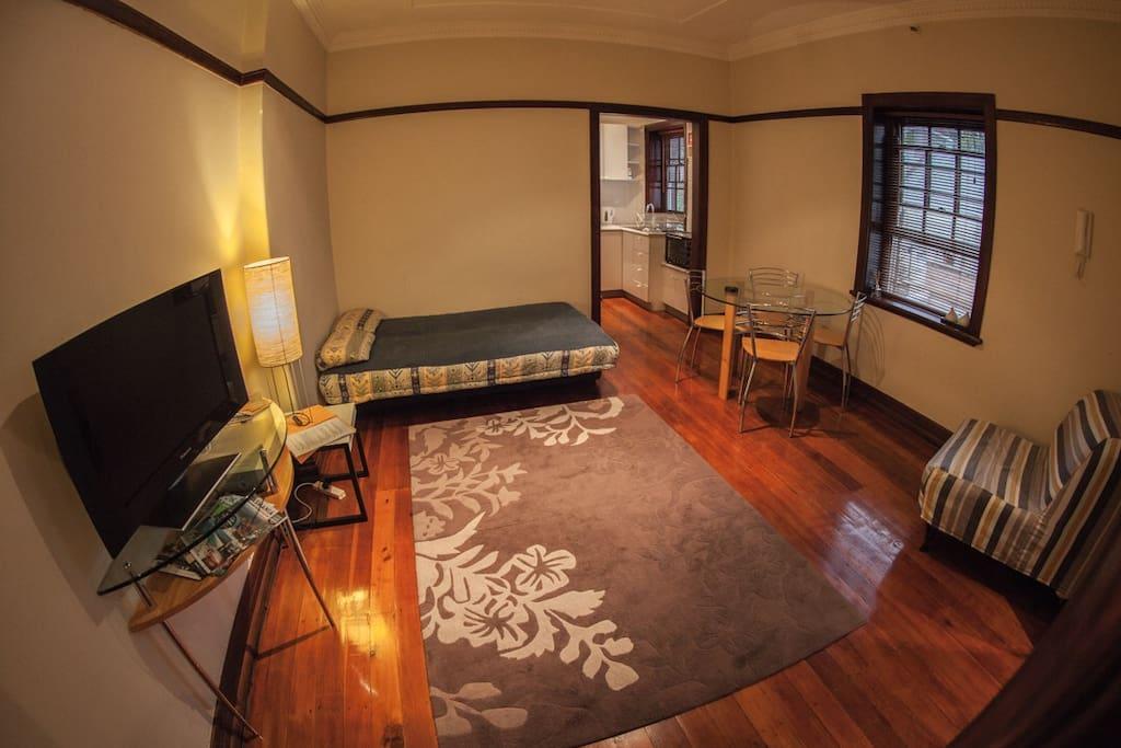 Large Studio Apartment near the Sydney CBD - Apartments ...