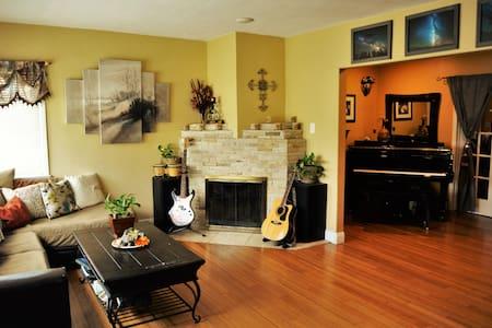 LAX Casa de Paz - Tranquility Room - Инглвуд - Дом