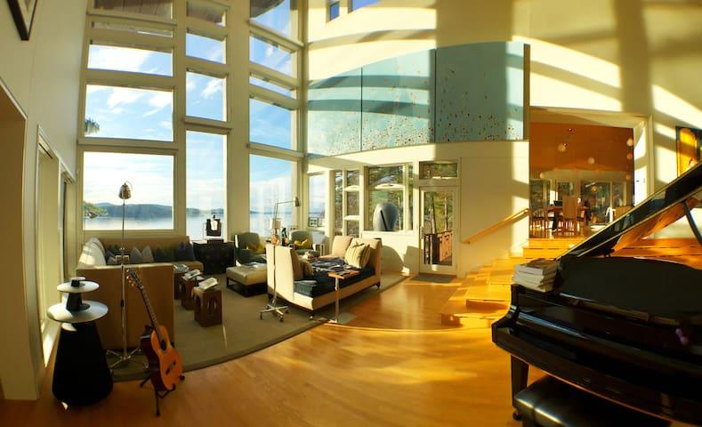 Luxury Waterfront Bnb, Room 2 - Wolfeboro - Bed & Breakfast