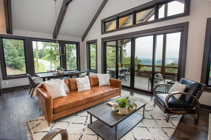Luxury Mtn Modern Home in Blue Ridge Mtn Club w/ Amenities, Views, Game Tables!