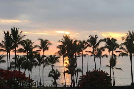 Beach Villas (Ocean View) Sleeps 5 - Kailua-Kona - Wohnung