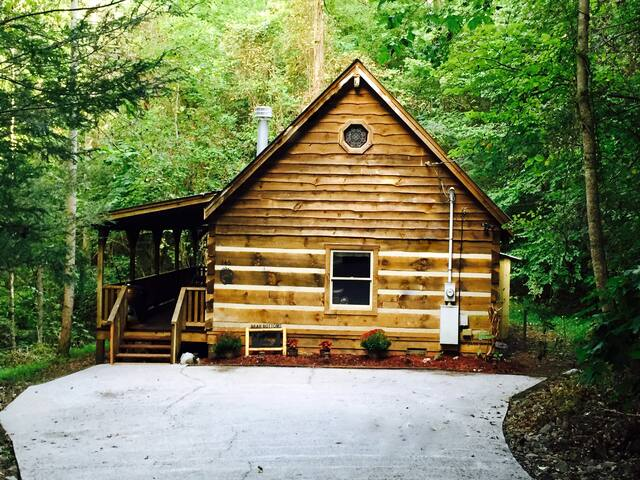 Rustic Mountainside Cozy Cabin - Townsend - Cabana