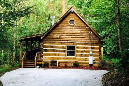 Rustic Mountainside Cozy Cabin - Townsend
