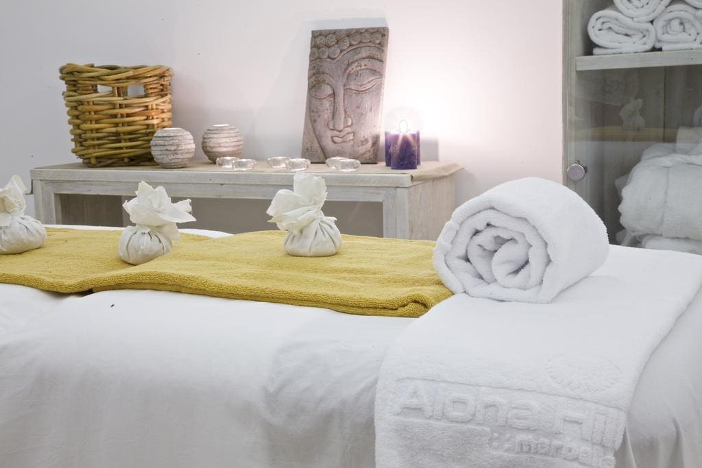 Zona de masajes y relajación