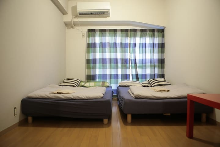 Huge Cozy Room!! Max 8ppl and 3mins to Golden Gai