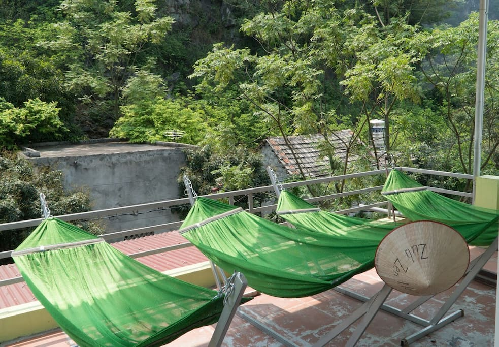 Enjoy your life and temporary forget time when you lie on hammock