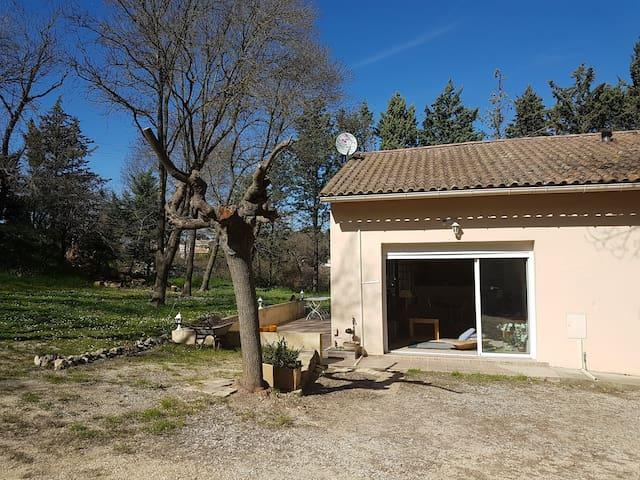 Jolie maison de campagne au nord de Montpellier - La Boissière - Hus