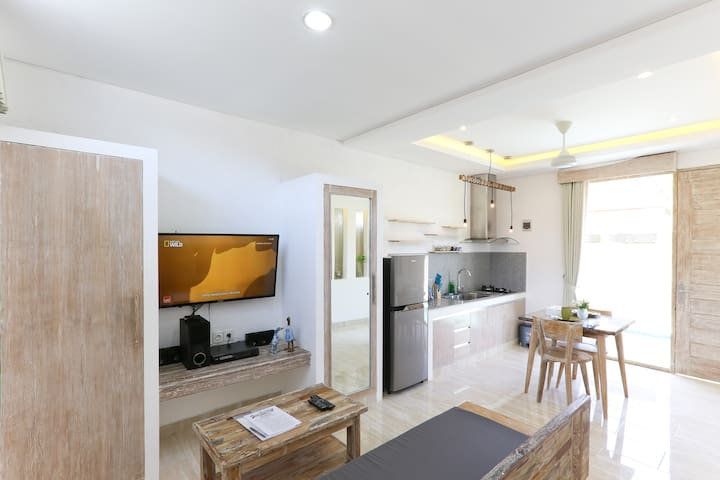New Open! ★  Very Cute Green Studio in Sanur No12 - Denpasar Selatan - Appartement