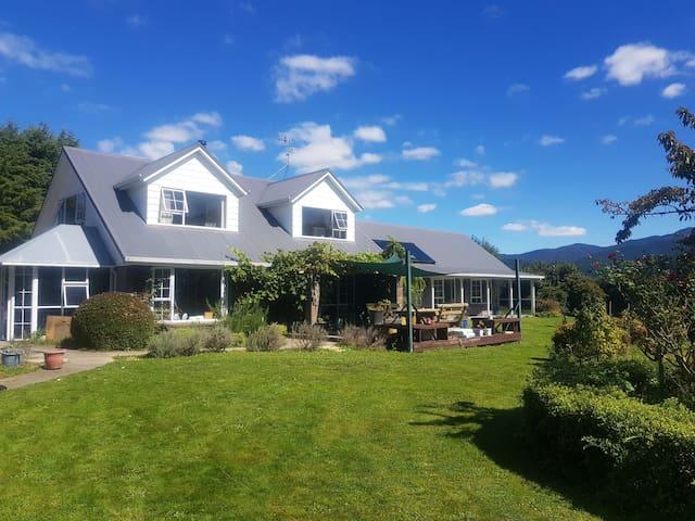 Koromiko Homestead  farm stay