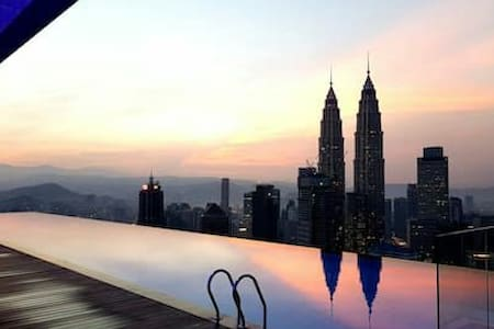 Sky Pool Cozy Room,300m to Subway Station - Kuala Lumpur - Wohnung