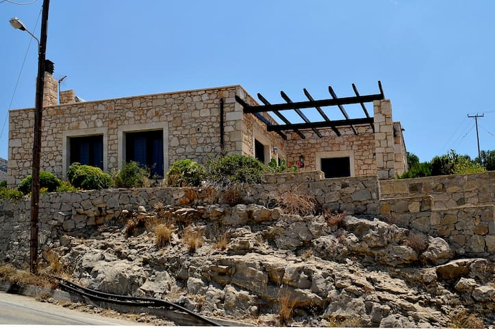 Sea view traditional Cretan Villa