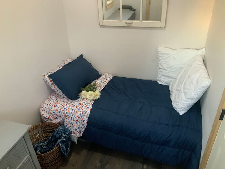 Tiny Room with Twin Bed