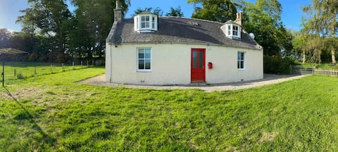 Traditional croft in beautiful Aberdeenshire