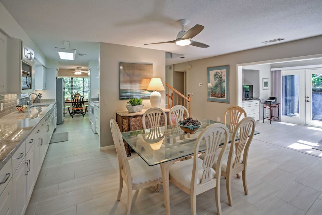 You'll love the open, airy layout throughout the home.