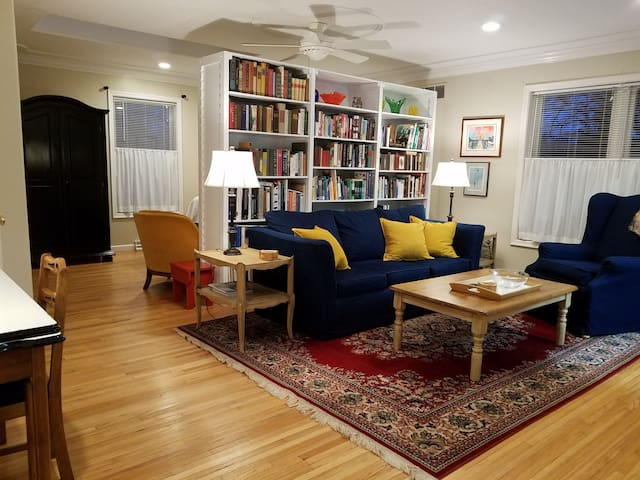 Studio Apartment & Library Haven in Maumee