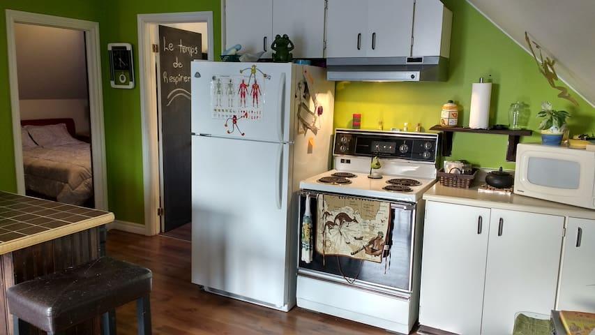 charmant appartement tout équipé - Saguenay - Wohnung