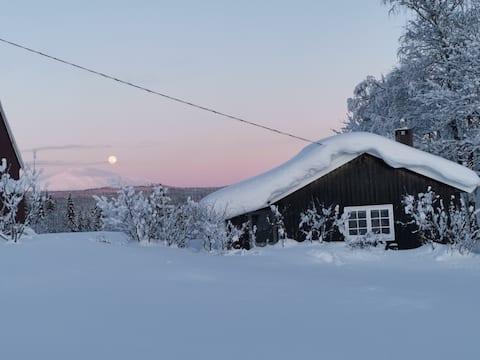 Trivelig hytte i Vestby i Trysil