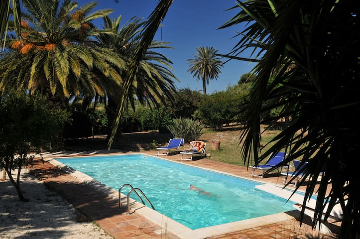 B&B Sicily- Cottage and pool - Sciacca