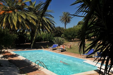 B&B Sicily- Cottage and pool - Sciacca - Casa