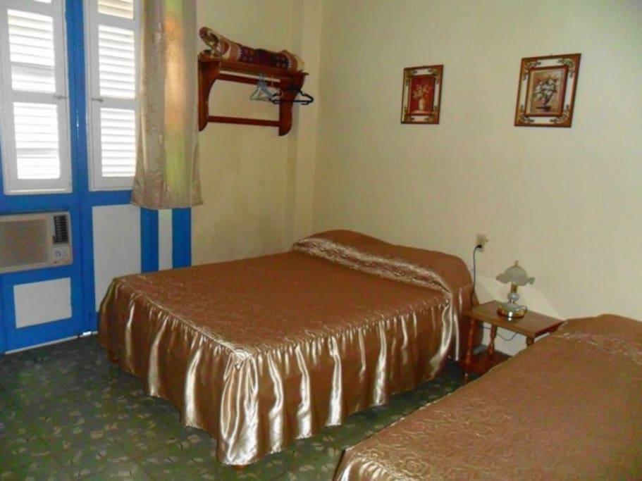 Habitación 2, privada e íntima