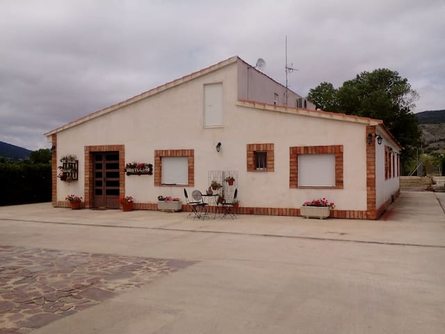 Casa rural en Onil, 30´de playa dormitorio matrimo - Onil