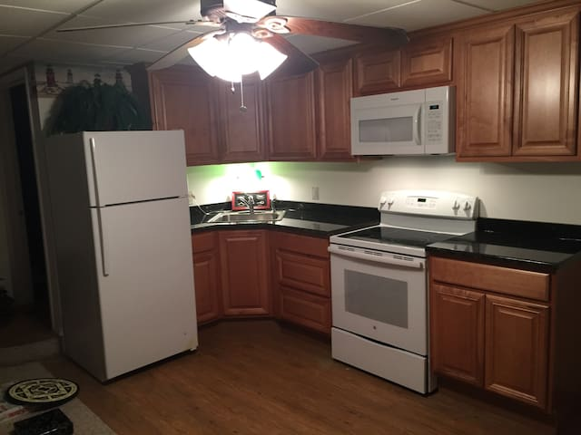 Two bedroom basement apartment in executive neighborhood