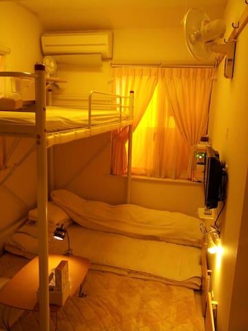 1/4 距離JR八王子車站徒步5分鐘之Tokyo8home 東京民宿【八王子之家】-  閣樓床和式房 - Hachioji - Bed & Breakfast