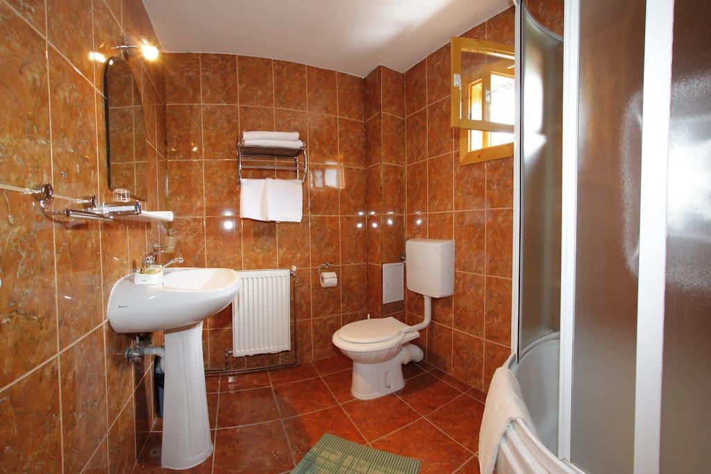 "Bathroom ( every room has it""s own bathroom)"