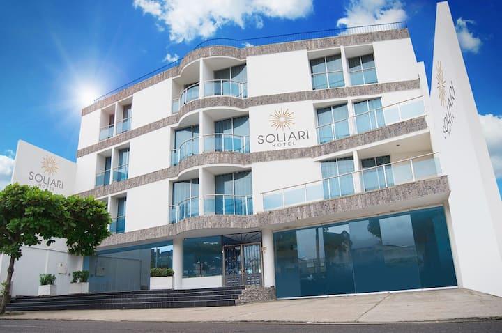 Hotel Soliari (el mejor en Melgar) HAB 3 personas