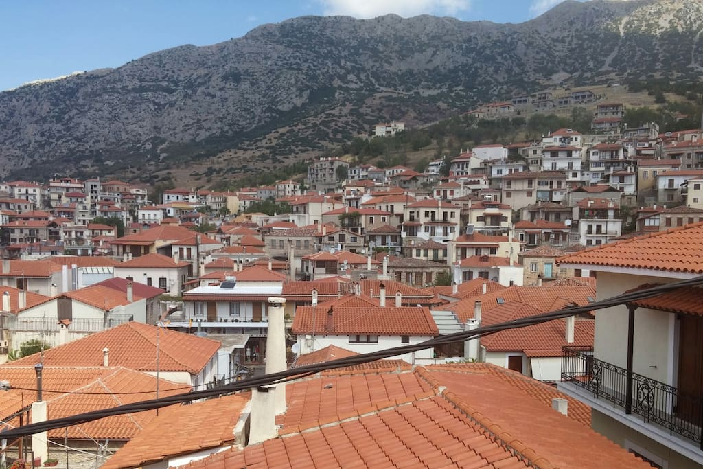 Θέα στο χωριό