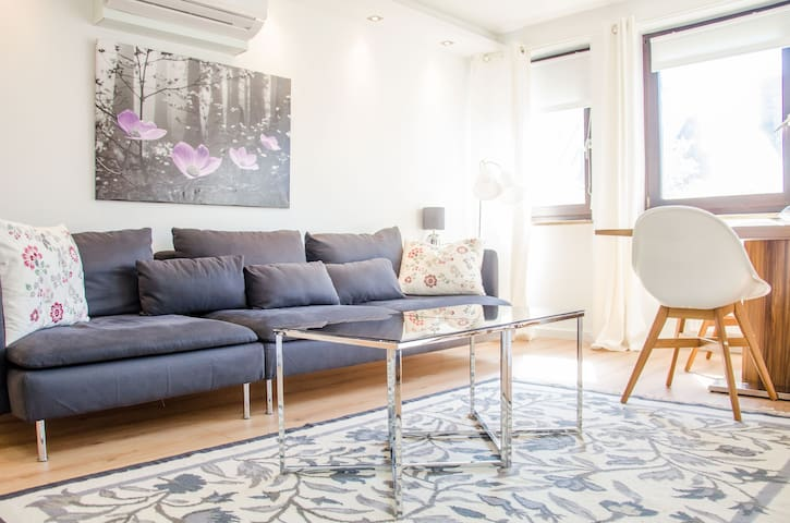 Cozy modern 3 bedroom apartment in the center