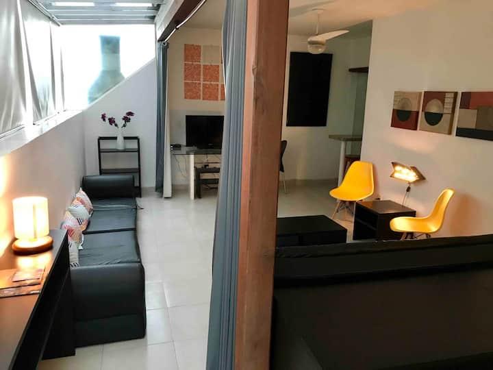 #Copacabana Rooftop Lounge - 2 blocks to beach